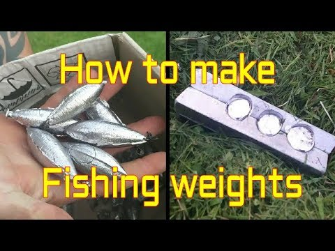 How To Make Fishing Weights At Home