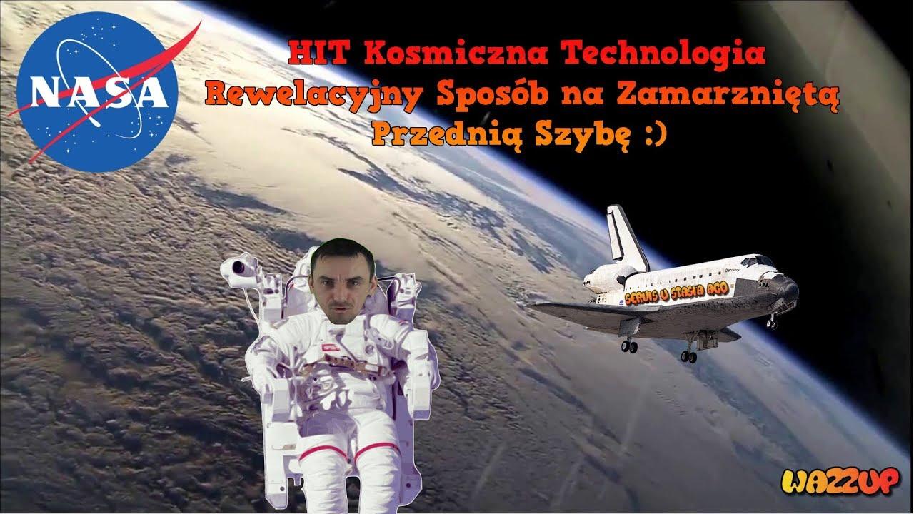 HIT Kosmiczna Technologia Rewelacyjny Sposób na Zamarzniętą Przednią Szybę Wazzup :)