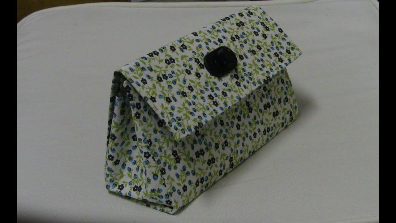 Bolsa Feita Com Caixa De Leite E Tecido : Bolsa de mao com caixa leite passo a