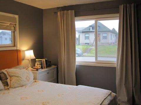 bedroom curtain ideas small windows