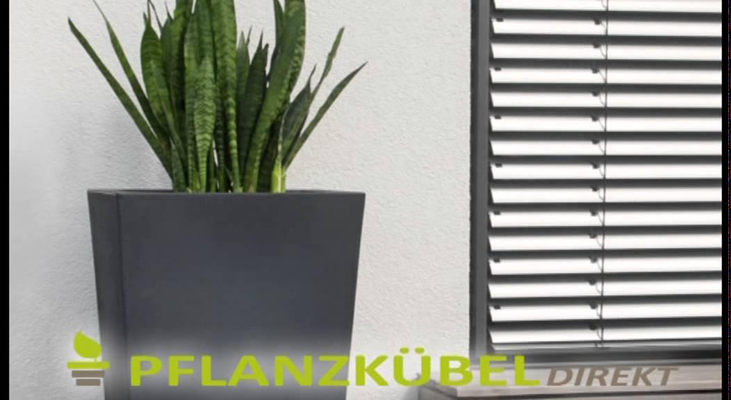 Einsatzideen für unsere Pflanzkübel - YouTube