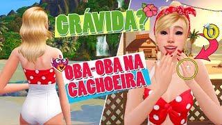 Ilhas Tropicais: OBA-OBA NA CACHOEIRA! EP22 | The Sims 4