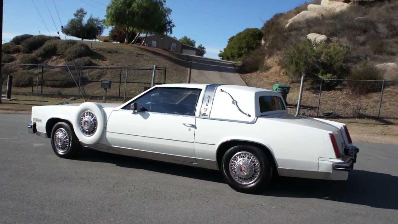 Cadillac Eldorado Paris El Ballero Conversion Opera Coupe Cadi W