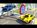 High Speed Jumps&Crashes #40 - BeamNG Drive Crash Testing