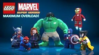 LEGO MARVEL SUPER HEROES : MAXIMUM OVERLOAD | DUBLADO EM PORTUGUÊS