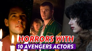 10 Avengers Actors You Forgot Were In Horror Movies |🎃 OSSA Halloween