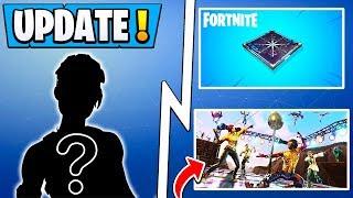 *NEW* Fortnite Update Tomorrow! | Unreleased Skins, Item, LTM, Cross Play!