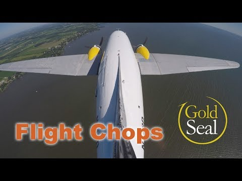 Flight Chops Masters the DC-3. Takeoff and Landing!