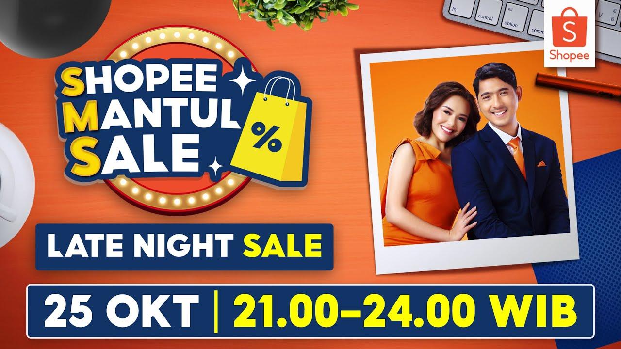 MALAM INI! Dapatkan Promo Fantastis dari SMS Late Night Sale   25 OKT 21:00 - 24:00 WIB