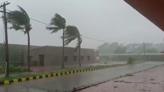 Cyclone Amphan makes landfall in India