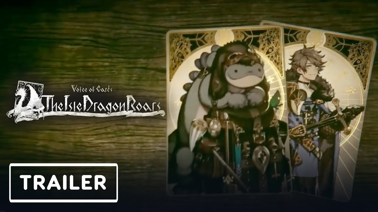 Voice of Cards: The Isle Dragon Roars - Announcement Trailer   Nintendo Direct - IGN