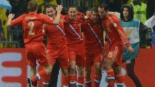 Russia vs Luxembourg 4-1. 2014 World Cup All goals. 06/09/2013