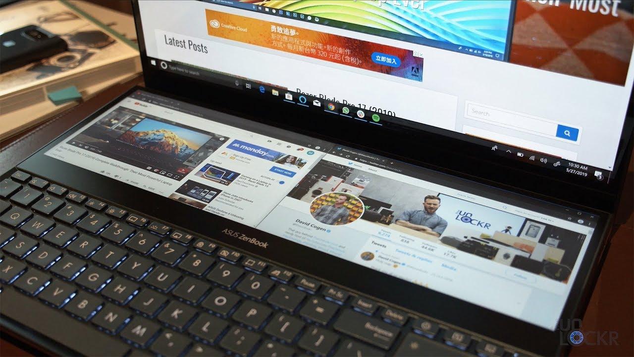 Asus Zenbook Pro Duo Complete Walkthrough: Dual Screen Laptop