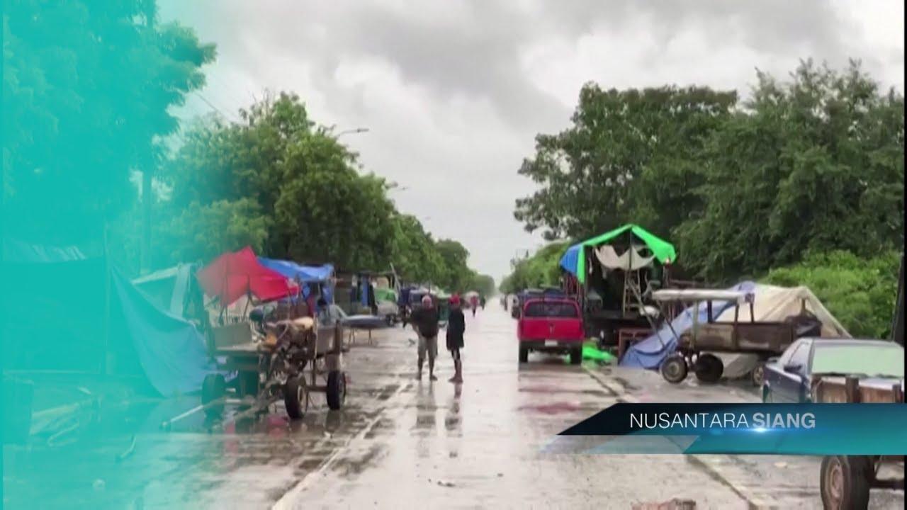 Honduras Luluhlantak Dihantam Badai Iota