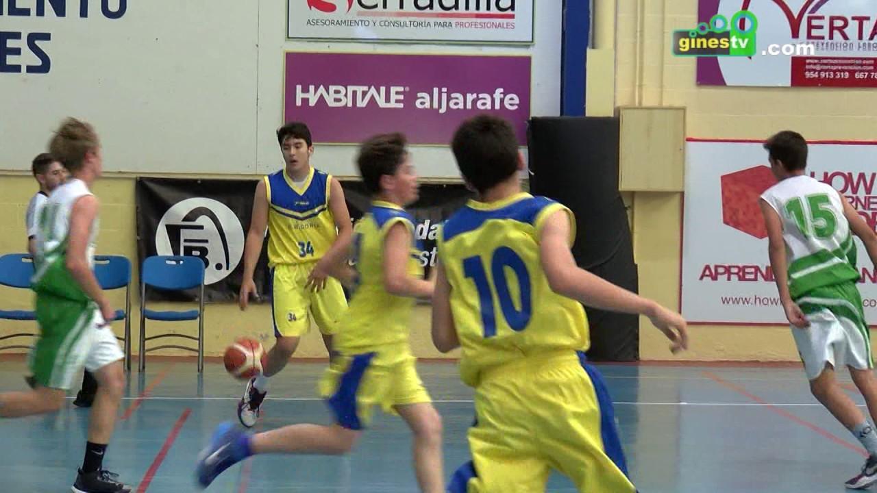 Las grandes promesas del baloncesto andaluz disputan en Gines el Campeonato de Andalucía Infantil