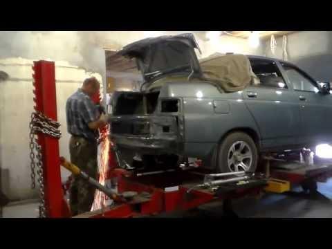 Кузoвной ремонт ВАЗ-2110