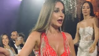 Anastasia bellydancer danced on song of Mohamed Ramadan BABA