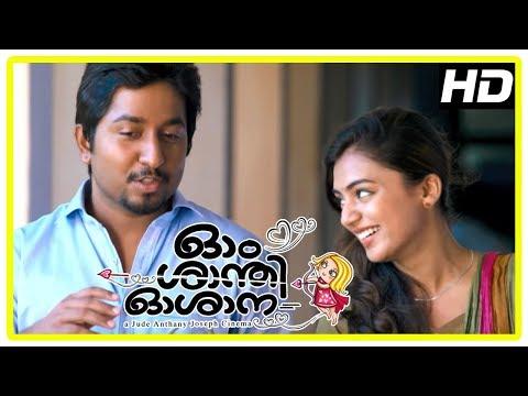 Ohm Shanthi Oshaana Movie Scenes | Nazriya join medical college | Vineeth and Nazriya become friends
