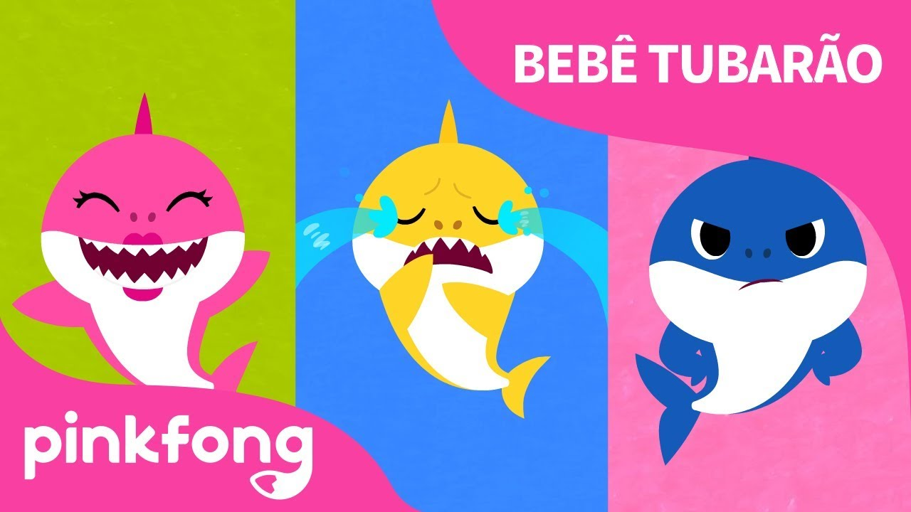 Se O Tubarão Está Feliz | Bebê Tubarão | Canções de Animais | Pinkfong Canções para Crianças