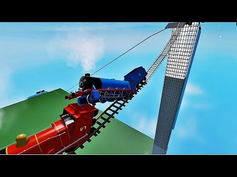 THOMAS THE TANK FLIP A NEW ENGINES THOMAS AND FRIENDS ROBLOX 7