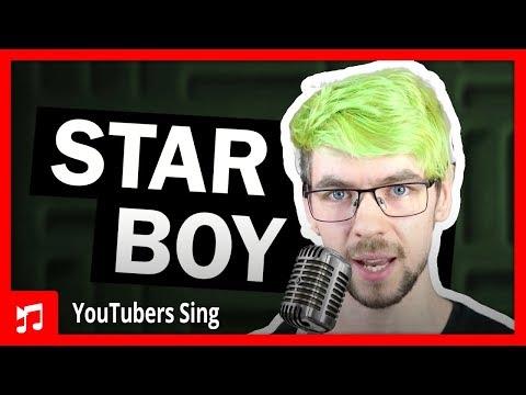 Jacksepticeye Singing Starboy by The Weeknd