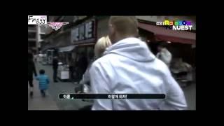 4 baekren moments making of a star ep 2 part 2 cute piggyback