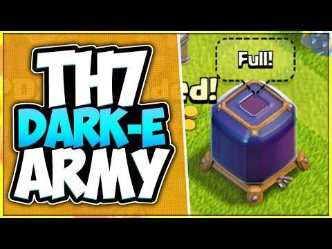 Best TH 7 Dark Elixir Farming Army In Clash Of Clans