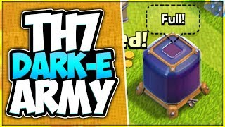 Best TH 7 Dark Elixir Farming Army in Clash of Clans