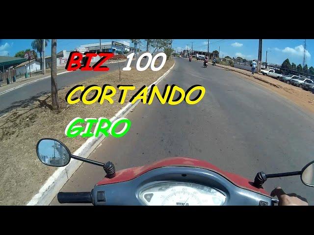 BIZ 100 CORTANDO GIRO | TRAMPANDO NO DIA DIA | AM63