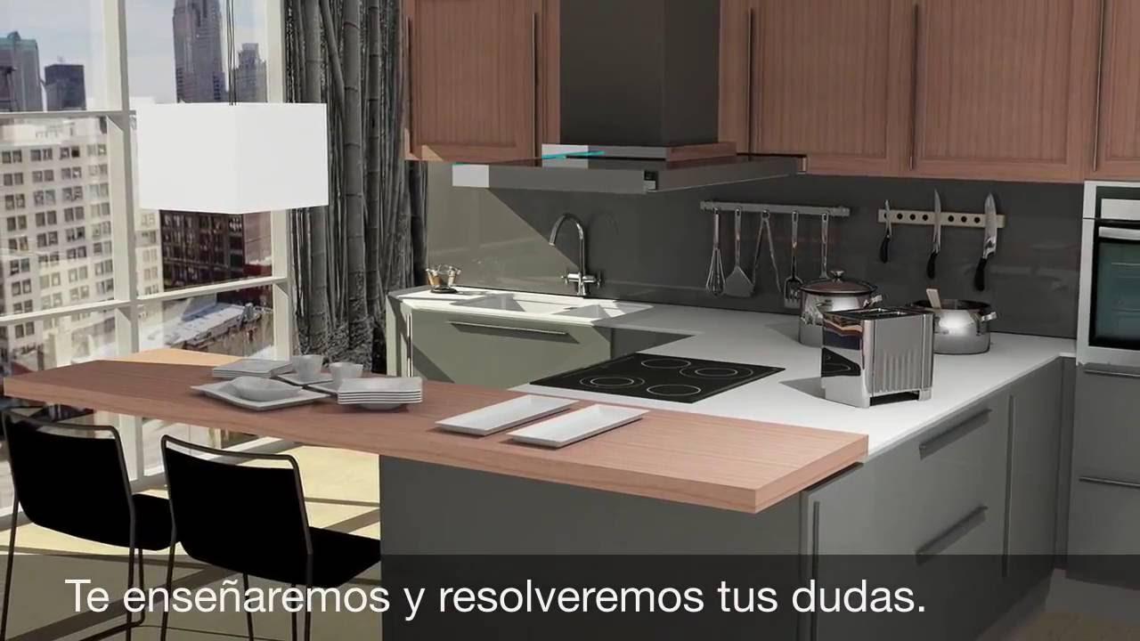 Programa de dise o de cocinas youtube for Programas para disenar cocinas en 3d