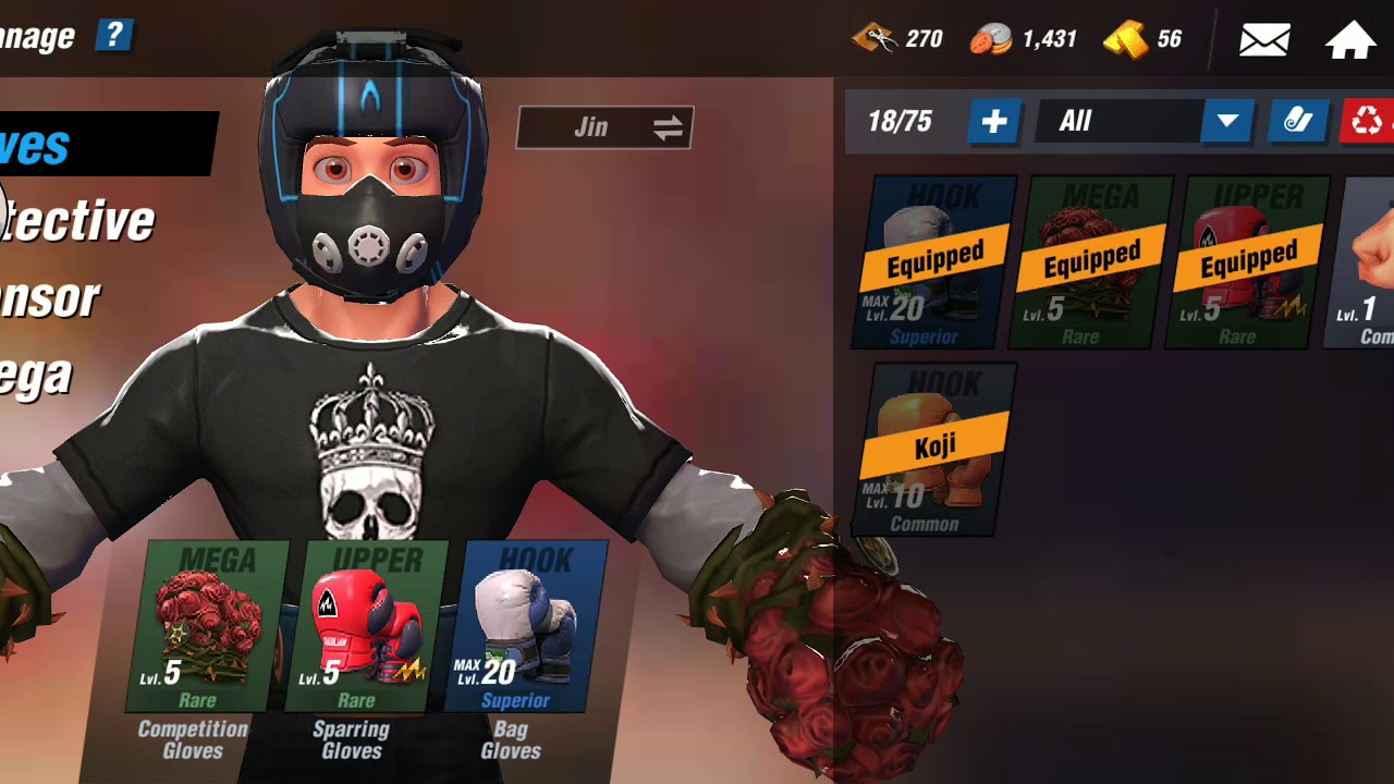 Download Great fight with Vincent. The bad day I lost every match boxing star