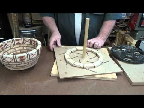 Segemented ring glue up jig.