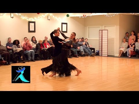 Pro/Am Tango Show Dance (American Style) At Ultimate Ballroom Dance Studio In Memphis