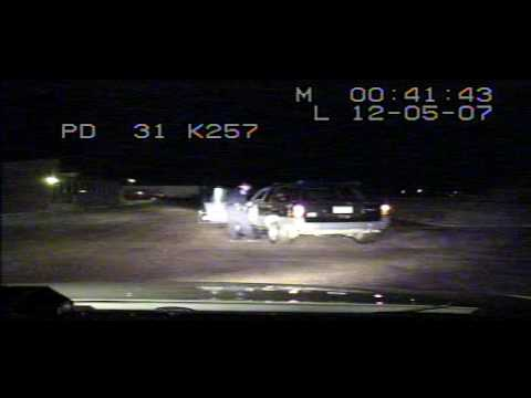 Model DUI Arrest, Gillette, Wyoming