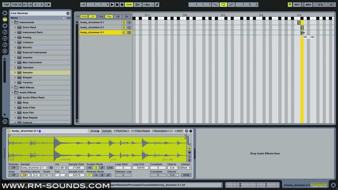 Ableton live 9 306: 10 killer simpler sampler tips 5. Swapping.
