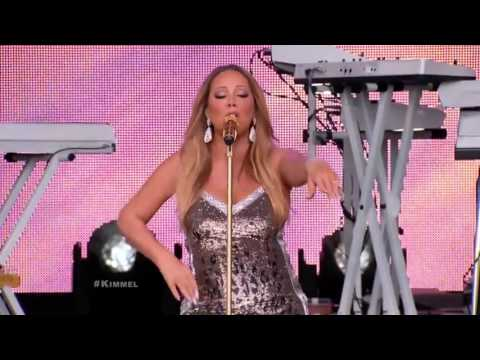 Mariah Carey - Vision of Love & Infinity (Live on Jimmy Kimmel)