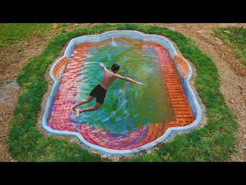 build swimming pool underground (Full Video)