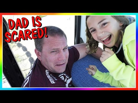 DAD FREAKS OUT ON A FERRIS WHEEL! | We Are The Davises