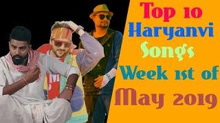 Top 10 haryanvi songs of Week 1st of May 2019 Haryanvi songs Haryanvi Latest Haryanvi songs