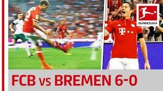 Bayern München vs. Werder Bremen - The Big Lewandowski Show