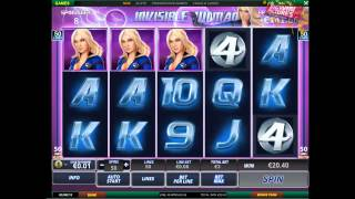 Fantastic 4 Slot - 12 Free Games!