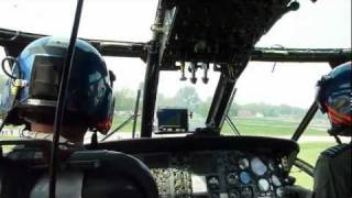 A flight with the Sea King MK.48 helicopter from Koksijde