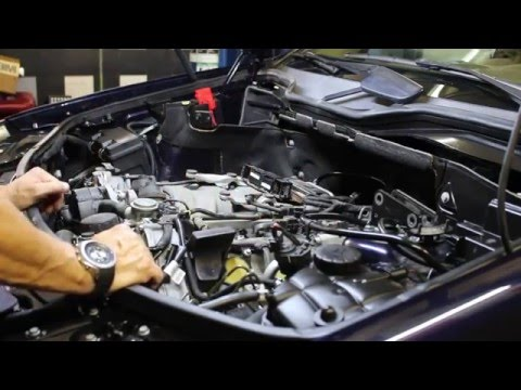 How To Remove And Install Mercedes Intake Manifold