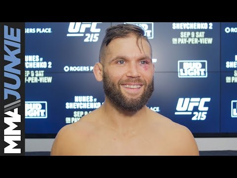 Jeremy Stephens full post UFC 215 interview