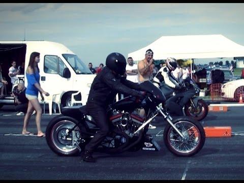 Harley Davidson V2 Vs Kawasaki Ninja 600