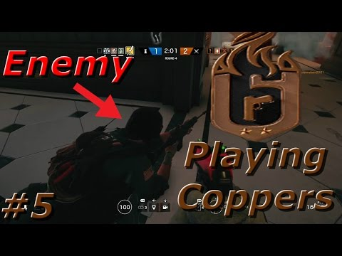 Worst Of The Worst!? Road to Copper - Rainbow Six Siege Funny Moments