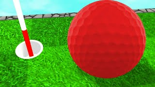 HOLE In ONE CHALLENGE But The BALL IS TOO BIG! (Golf It)