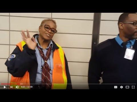 NYC MTA Talk Kawasaki R211 Mock-up OPEN GANGWAY, LESS SEAT NEW SAFER Designs 2017 PATH METRO NORTH