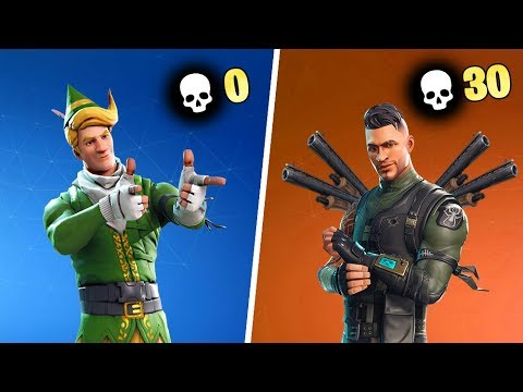 0 KILL WINNER vs 30 KILL WINNER - Fortnite
