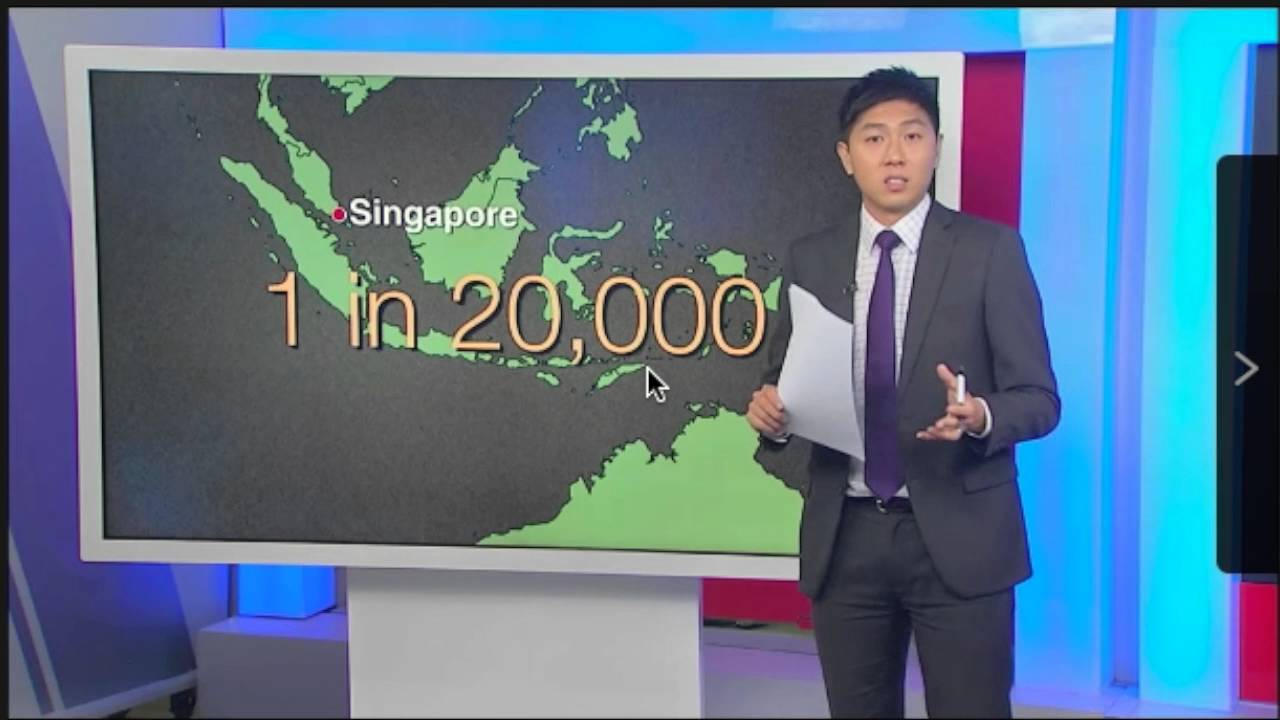 Explanation of Bone Marrow Donation on Channel News Asia
